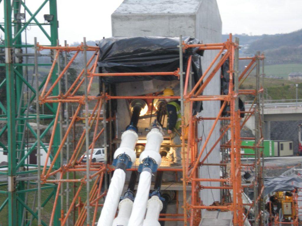 Naprawa konstrukcji z betonu sprezonego